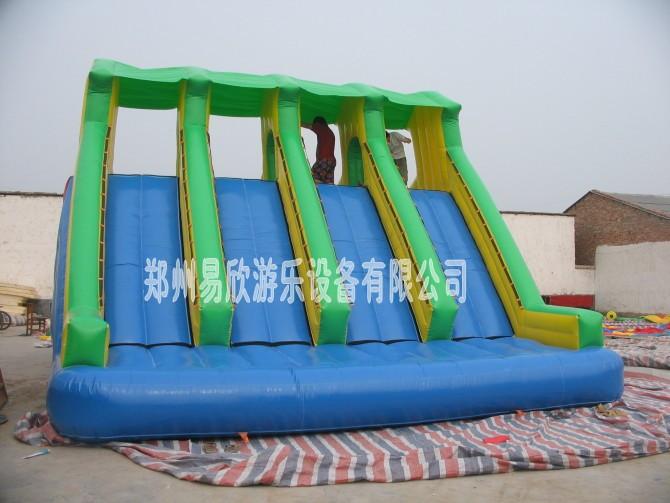 最畅销大型充气玩具滑梯|充气沙滩玩具-易欣用质量说话